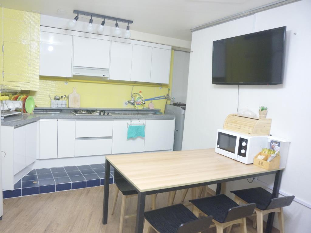 New Sun Guesthouse Myeongdong homestay ở Hàn Quốc như thế nào