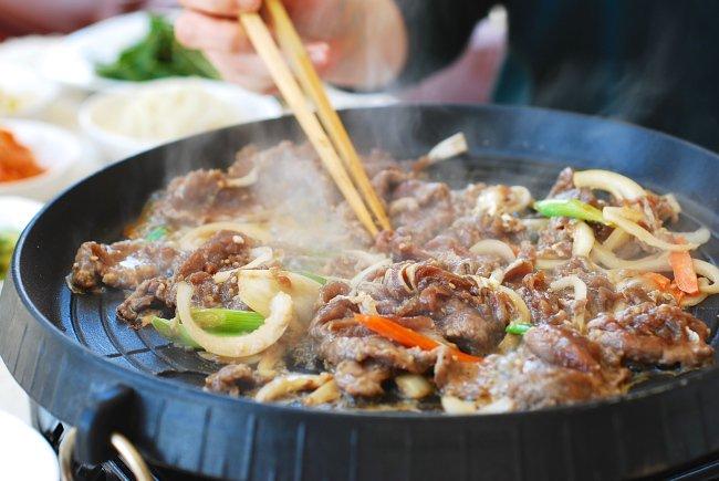 Thịt bò nướng (Bulgogi)