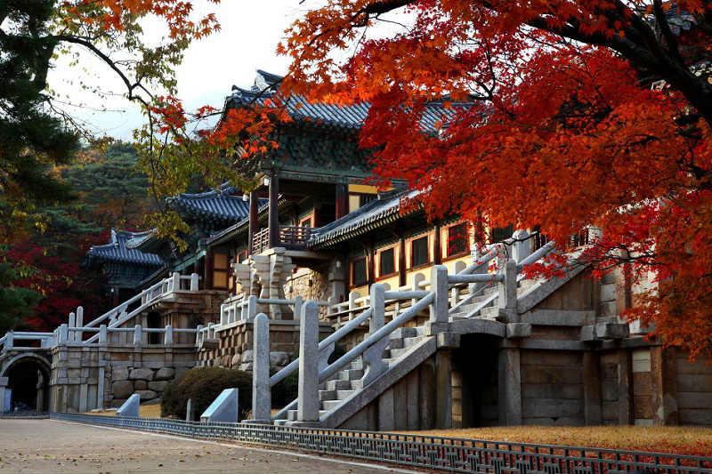 Đi chùa Bulguksa - Du lịch Hàn Quốc tự túc