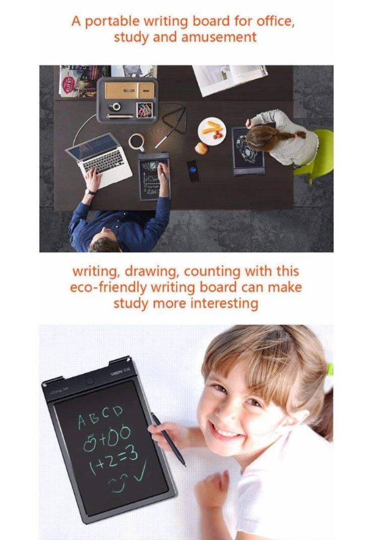 bảng viết vẽ tự xóa thông minh dành cho bé