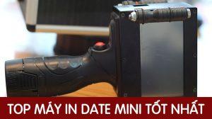 Top Máy in date cầm tay mini, in logo, in ngày sản xuất tự động