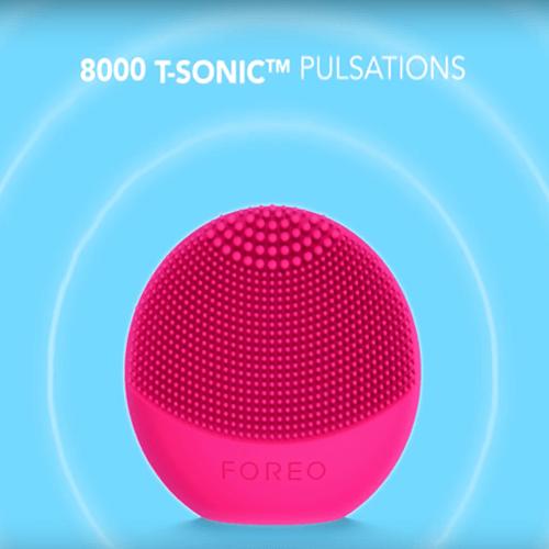 Máy rửa mặt Foreo sở hữu độc quyền công nghệ T-Sonic