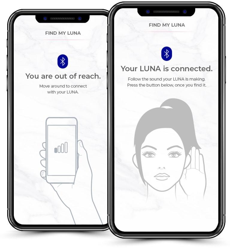 Các chị em có thể dễ dàng tìm kiếm máy rửa mặt Foreo Luna Mini 3 bằng ứng dụng