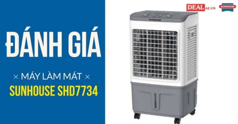 Review máy làm mát không khí SUNHOUSE SHD7734