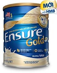 Sữa Ensure Gold hương vani