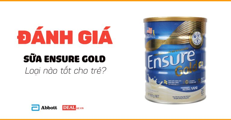 Review sữa Ensure Gold