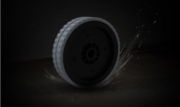 Robot hút bụi lau sàn ILife V8s trang bị bánh xe RoadRover