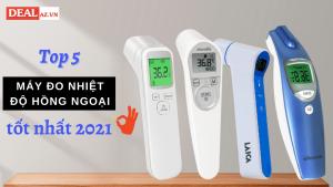 Top 5 máy đo nhiệt độ hồng ngoại tốt nhất 2021