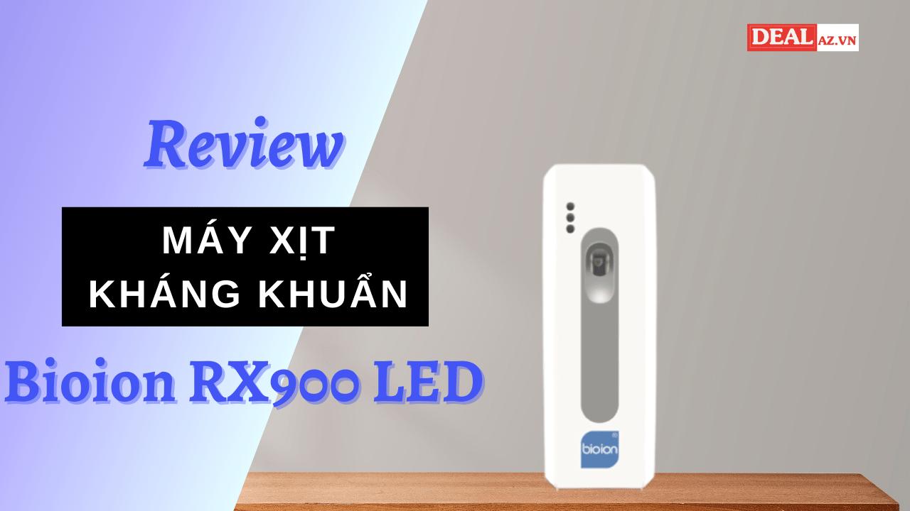 Máy xịt kháng khuẩn khử mùi tự động Bioion RX900 LED