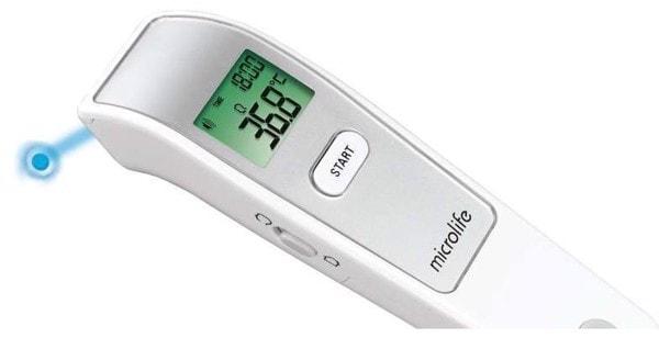 Review nhiệt kế hồng ngoại microlife fr1mf1