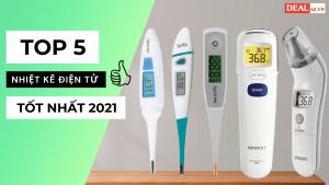 Top 5 máy đo nhiệt kế điện tử tốt nhất năm 2021
