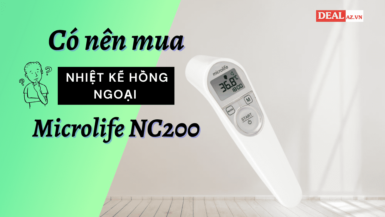 Nhiệt kế hồng ngoại đo trán Microlife NC200