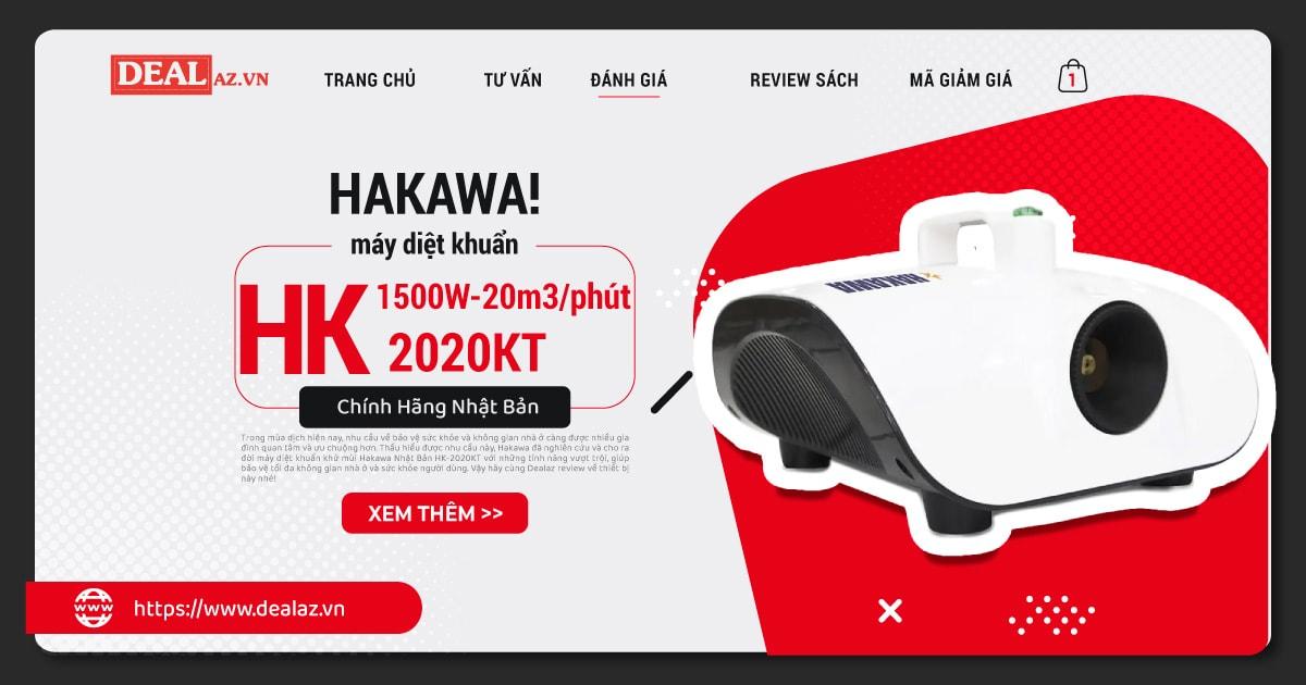 máy diệt khuẩn khử mùi Hakawa Nhật Bản HK-2020KT