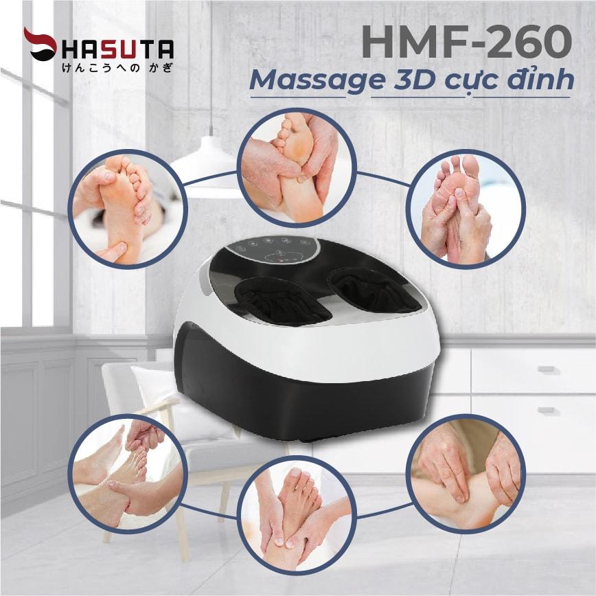 Review Máy Massage Chân Hasuta HMF-260