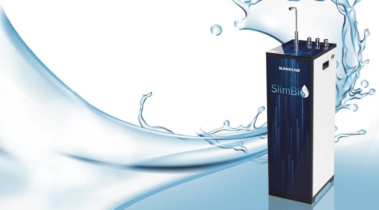 Đánh Giá Máy Lọc Nước R.O Nóng Lạnh Cảm Ứng Sunhouse Slimbio SHA76214CK-S
